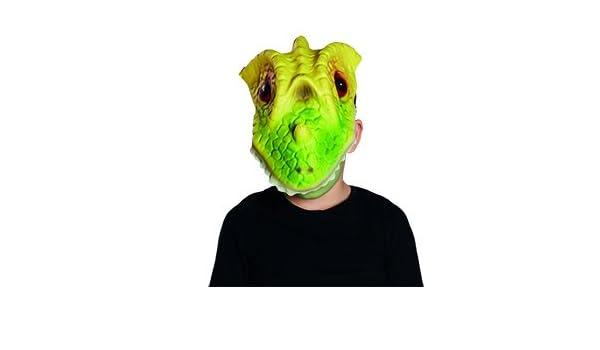 Dinosaurier Kinder Maske Echse Accessoire Karneval Fasching