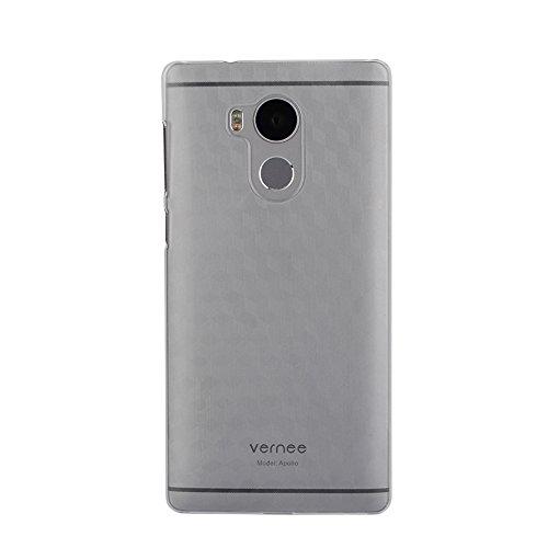 Vernee Apollo Funda, Hard Plastic PC Back Cover Case Carcasa para Vernee Apollo Helio X25 5.5 Inch Smartphone