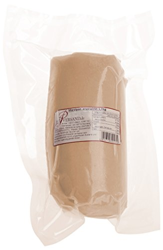 Pati-Versand Marzipan angewirkt, 1er Pack (1 x 1 kg)