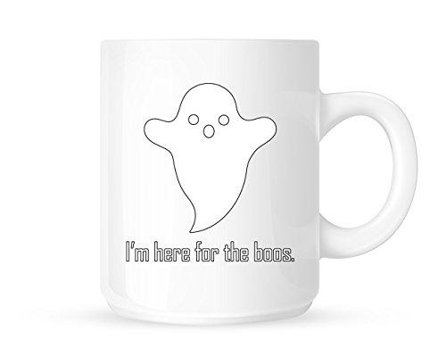 Ich Bin Hier, für die Booz-Fun Halloween/Ghost Themed Neuheit Tee/Kaffee Tasse/Cup-tolle Geschenkidee