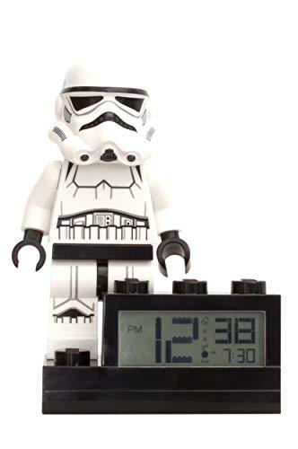 Réveil Lego Stormtrooper avec base