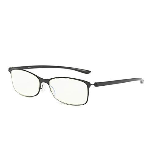 Lifet Frauen/Männer Lesebrille Lesehilfe Brillen TR90 Frame Anti-Blu-Ray Computer Brillen 1,0 1,5 2,0 2,5 3,0 (+ 2,50, Schwarz)