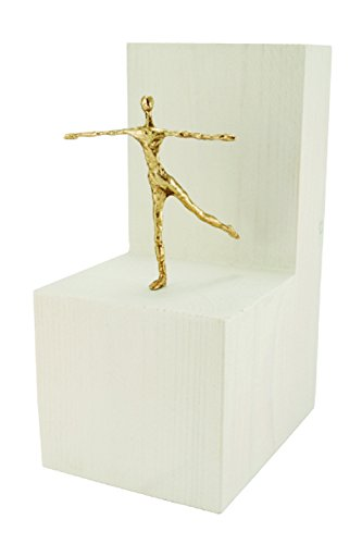 Bronzefigur Balance Balance Skulptur