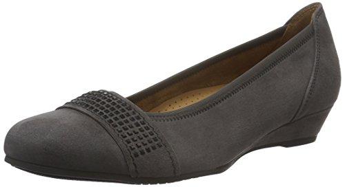 Gabor Shoes 52.696 Damen Geschlossene pumps Grau (dark-grey(schwarz) 49)