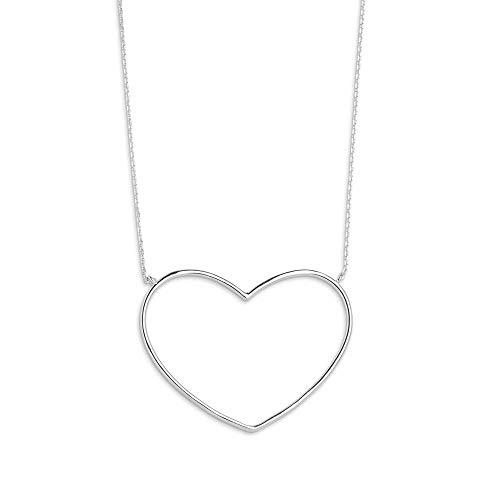 Xenox Silber-Halskette für Damen Heart Beat XS1767