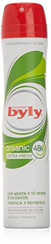 Byly Deodorante, Organic Extra Fresh, 200 ml