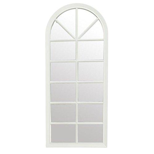 Espejo-de-pared-en-forma-de-ventana-blanco-decorado
