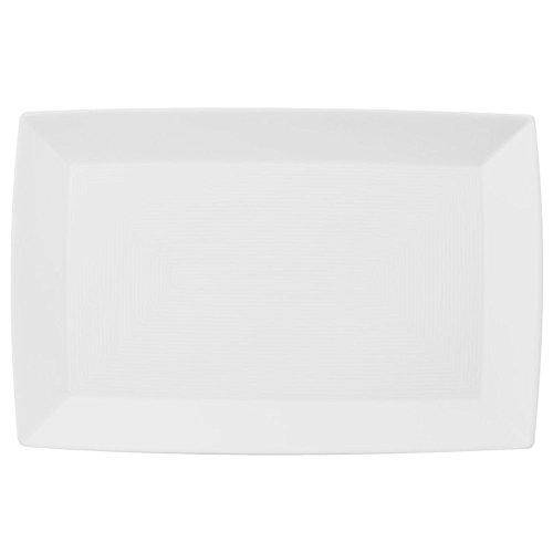 Thomas' Loft - Platte eckig 28 cm, Weiß
