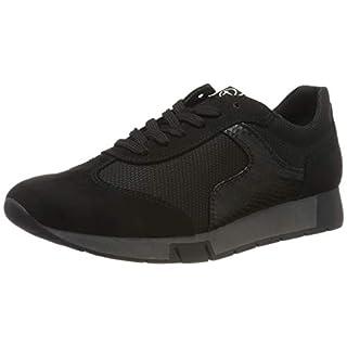 Tamaris Damen 1-1-23602-23 Sneaker, Schwarz (Black 1), 39 EU