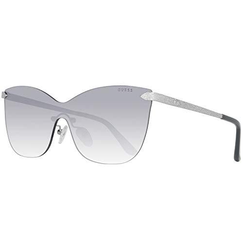 Guess Damen Gu7549 10C 0 Sonnenbrille, Silber, 144