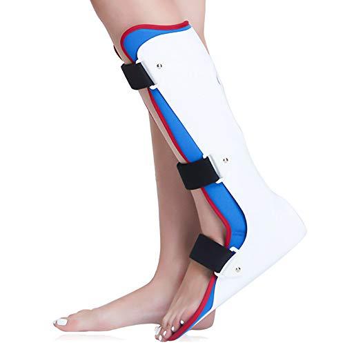 WY- SPLINTS Orthotics Corrector Tag und Nacht Fuß - Plantarfasziitis-Nachtfußschiene zur Behandlung von Faszien-, Sehnen- und Wadendehnung, Fersensporn- oder Bogenschmerzen,Right-M - Knöchel-verletzung Behandlung