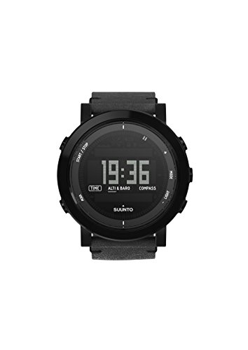 Watch Suunto Essential Ceramic ALL BLACK - Leather Strap