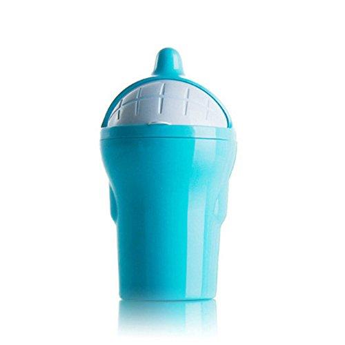 SEGRJ Auto-Mülleimer, süßes Design, Delfin-Form, 10 x 7 x 19 cm blau Delfin-form