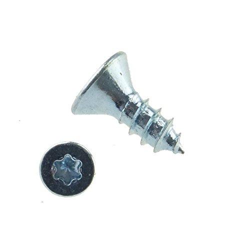 Senk-Blechschraube ähnlich DIN 7982 Stahl gal zn Form C-ISR 4,8 x 13 - 500 Stück