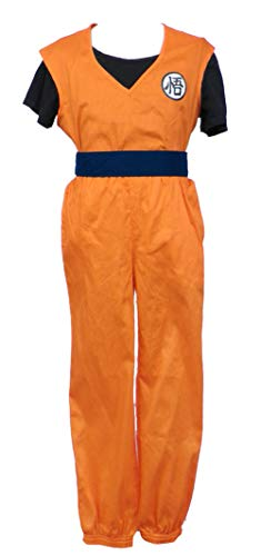 Chong Seng CHIUS Cosplay Costume Training Uniform for Kakarot Son Goku Version 2