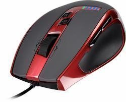 SPEEDLINK SL-6398-RD-01 - Kudos RS Laser 5700DPI Gaming Mouse, USB, Red/Black (SL-6398-RD-01)