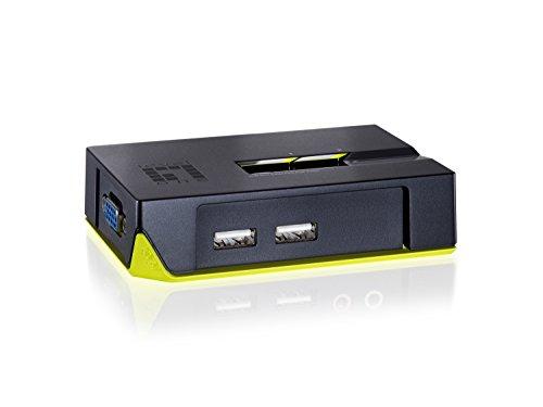 LevelOne KVM-0222 - Switch KVM, Negro