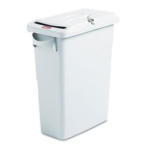 slim-jim-confidential-document-receptacle-w-lid-rectangle-15-7-8-gal-lt-gray-sold-as-1-each