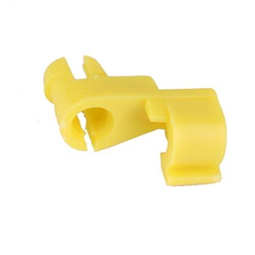 Generic 15pcs Porte Nylon Clips Verrouillage Pour Toyota 69293-12040 Pièce Jaune