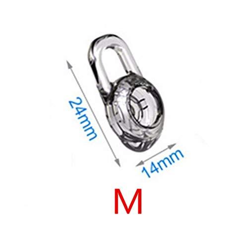 yunyiyi 3PCS Silikon Ersatz in-Ear-Ohrstöpsel Ohr Tipps Buds Gel für Plantronics M100MX100975925M25M28M55M155Kopfhörer - 925 Ear-gel
