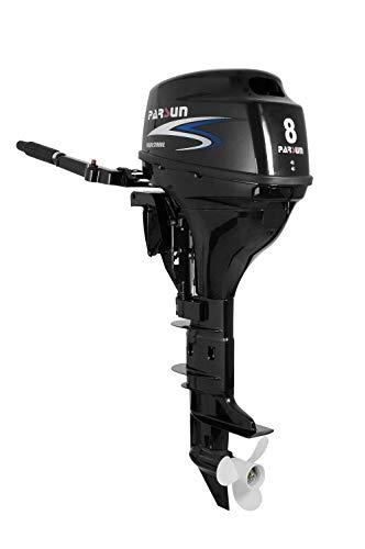 Parsun Aussenborder Benzinmotor 2,6-40 PS   Leistungsstarker 4-Takt Außenborder Bootsmotor  Einspritzer Außenbordmotor für garantierten Fahrspaß in diversen PS Ausführungen (8 PS, Langschaft)