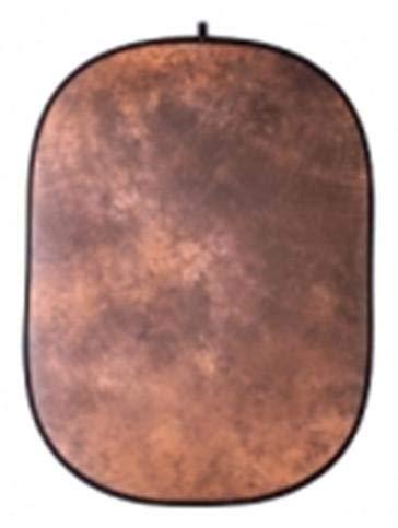 Walimex FaltHintergrund (146x200 cm) braun batik