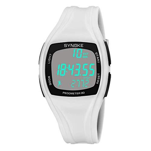 NEEKY Herren Armbanduhr,Sportuhren,Smartwatch,Für Unisex Fitness Uhren - Calorie Schrittzähler Chronograph Outdooruhren Wasserdicht Watch