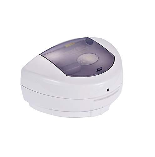 Distributeur de Savon 500 ML Blanc Induction Automatique Tenture Murale Distributeur de Savon Famille assainisseur de Mains en Plastique (Color : White, Taille : 19 * 14.5cm)