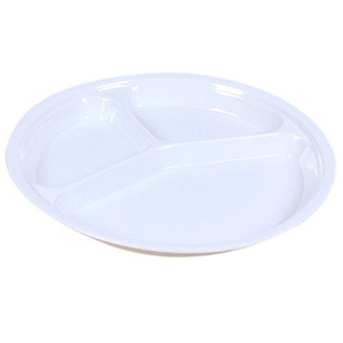 highdas-melamine-enfants-ronds-trois-plaques-divided-dish-ustensiles-plateau-10-pouces-blanc
