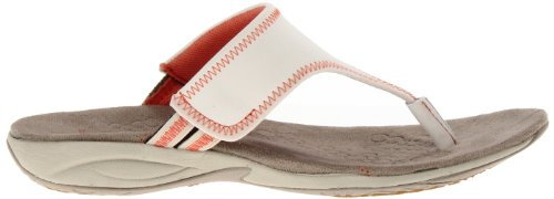 Hush Puppies  Zendal Toe Post, Tongs pour femme multicouleur Off White Multi white