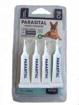 4 Pipetas Repelentes 100% natural para perros grandes Parasital