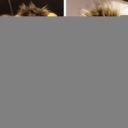 Löwe Mähne Pet Cat Hat Perücke Kostüm Cosplay Gefülltes Plüsch mit Ohren ()