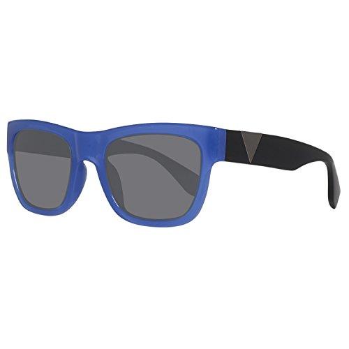 Guess GU7440 C54 90A (shiny blue / smoke) Sonnenbrillen