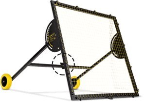 m-station Talent Club Football Rebounder Used by Real Madrid Football