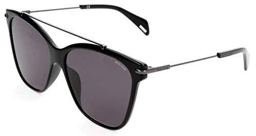 Police Damen SPL404 Sonnenbrille, Schwarz, 55