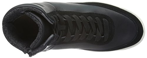 Lacoste Damen Explorateur Calf 316 2 High-Top Schwarz (BLK 024)