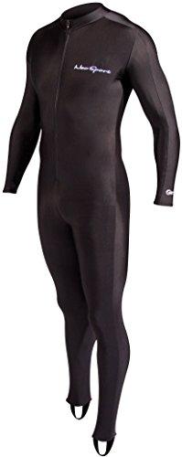 NeoSport Wetsuits Full Body Sport Skins-Tauchen, Schnorcheln und Schwimmen, Unisex, 405272, schwarz