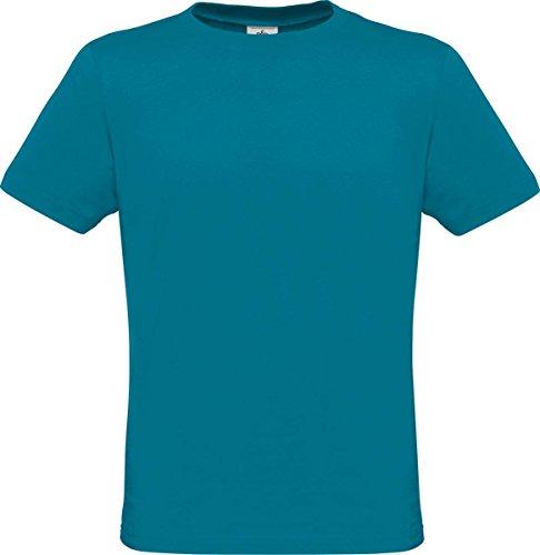 B & C Herren Casual Wear Baumwolle Tees Jersey Short Sleeve Crew Neck nur T-Shirt/Top Blau - Diva Blue