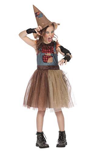 Wilbers Kinder Kostüm Vogelscheuche Karneval Fasching ()