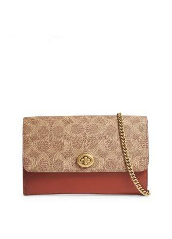 Coach Women Clutch Bags Brown Genuine Designer Clutch Bags RRP £225.00 (Clutch Handtaschen Coach)