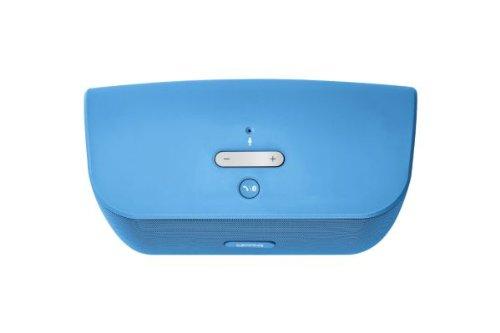 Gear4 StreetParty Drahtloser Tragbarer Lautsprecher für iPod, iPhone, iPad, MP3 und Smartphone Geräte - Blau