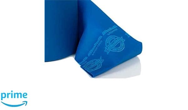 THERA-BAND ® 3,0 m blau Gymnastikband Original Theraband von der Rolle