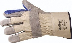 1-x-pair-venitex-top-quality-cowhide-leather-grey-docker-work-safety-gloves-one-size-by-venitex