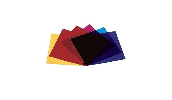 Farbfolie Rot-Blau-Gelb-Grün Par 56: Amazon.de: Elektronik