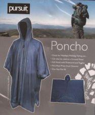 Preisvergleich Produktbild Adults Pursuit Poncho Waterproof Cape fishing Rain Coat Mac Blue
