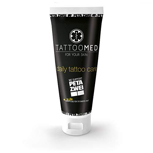 TattooMed Tattoo-Pflege für tätowierte Haut - Daily Tattoo Care PETA ZWEI (Limited Edition) 100ml