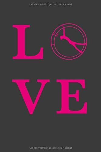 RHÖNRAD LOVE: A5 Dodgrid (gepunktet)    Agenda Journal   Perfekt zum Schreiben und Zeichnen   Rhönrad turnen