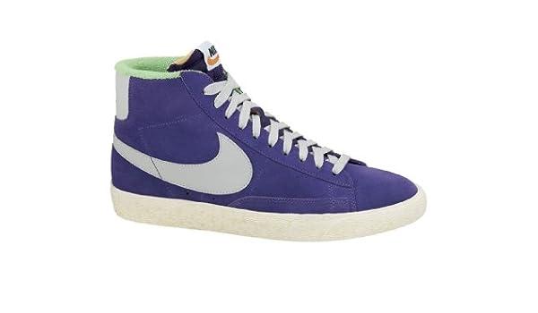 Nike Blazer Mid PRM VNTG Suede Court PurpleStrata Grey