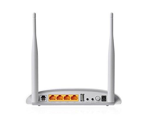 TP-Link TD-W9970 Modem Routeur VDSL2/ADSL+ Wi-Fi N 300 Mbps avec Port USB