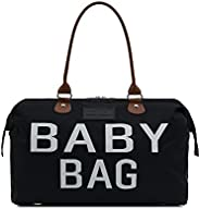 CHQEL Baby Diaper Bag Mommy Bags for Hospital & Functional Large Baby Diaper Travel Bag for Baby